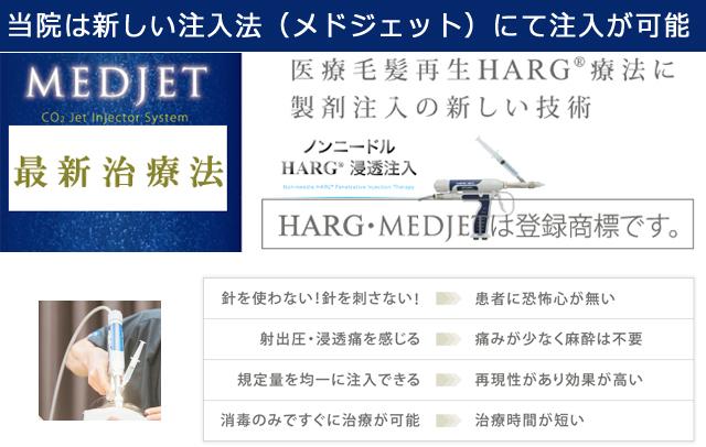 メドジェット注入HARG療法